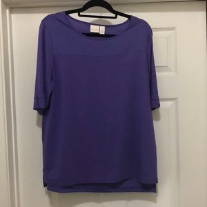 Chico's Purple Top